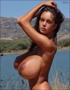 Skinny big tits nude