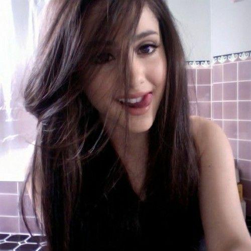 Hair ariana grande brown