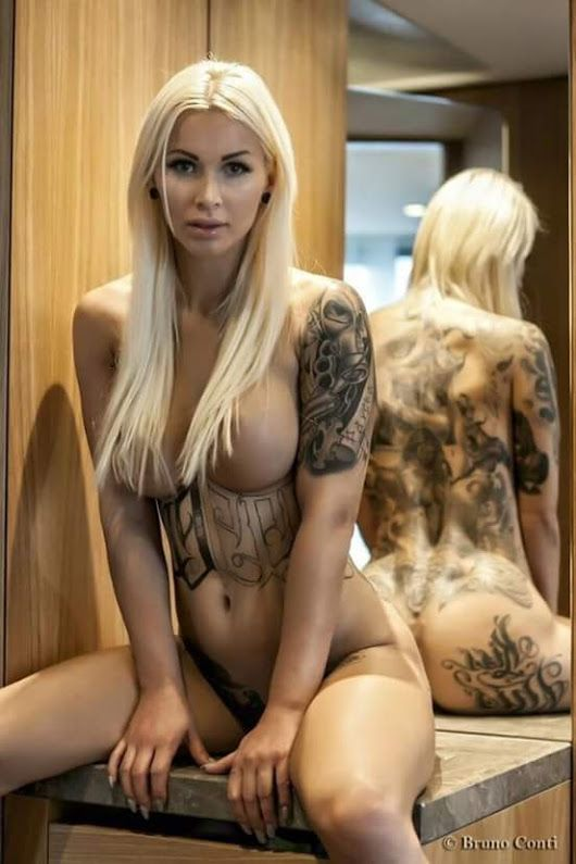 Girl with dolphin tattoo porn