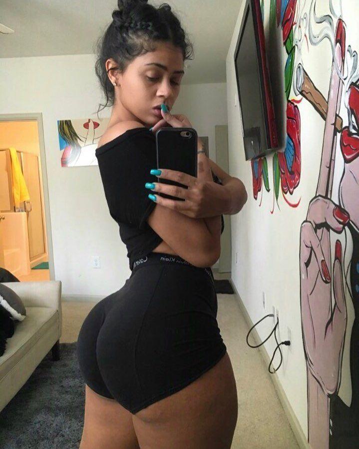 black instagram girls thick on Big booty