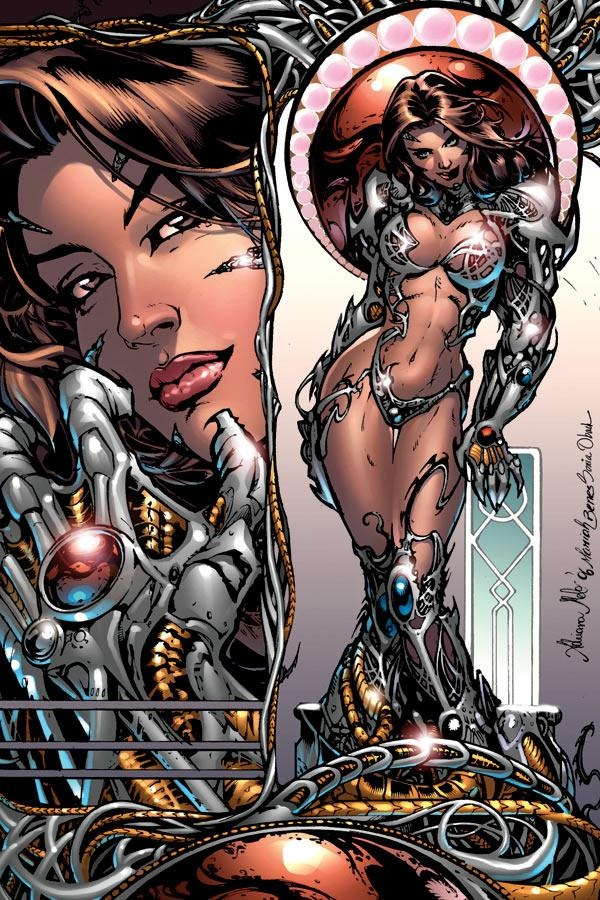 Witchblade porn comic