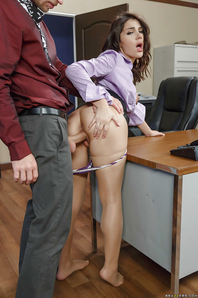 Fucking co worker in office