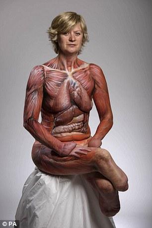 woman nude Amputee