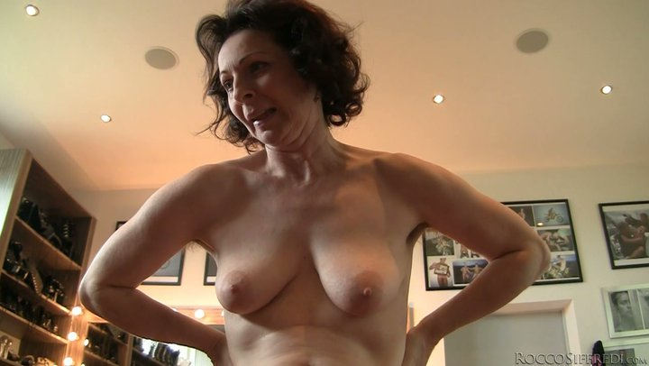 Hairy mature moms banged