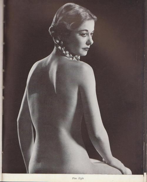 Vintage photography nude woman