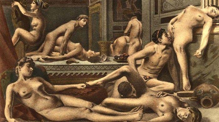 avril painting Henri erotic