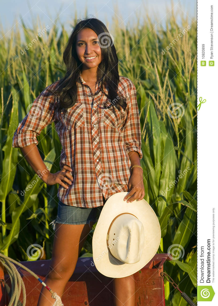 farm girl cum Beautiful