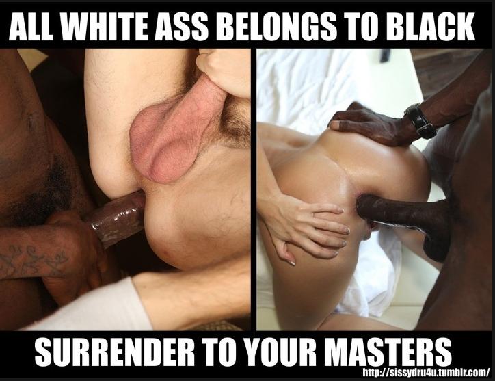 White girl black cock crave caption