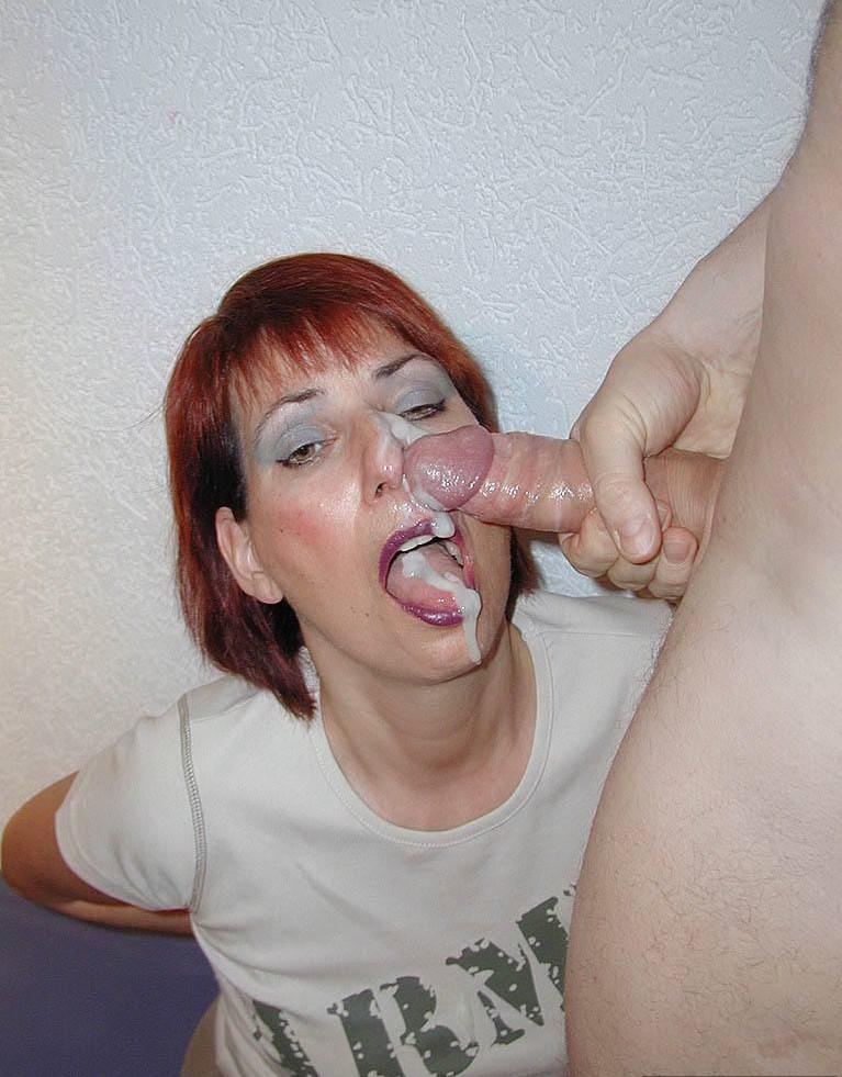 Pour faciale les amateur une spermees