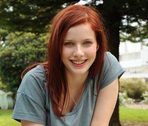 rachel Hairy redhead