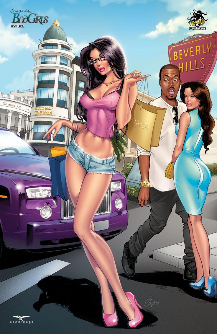 Sexy bad girls cartoons