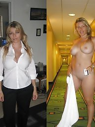 Mature dressed undressed milf