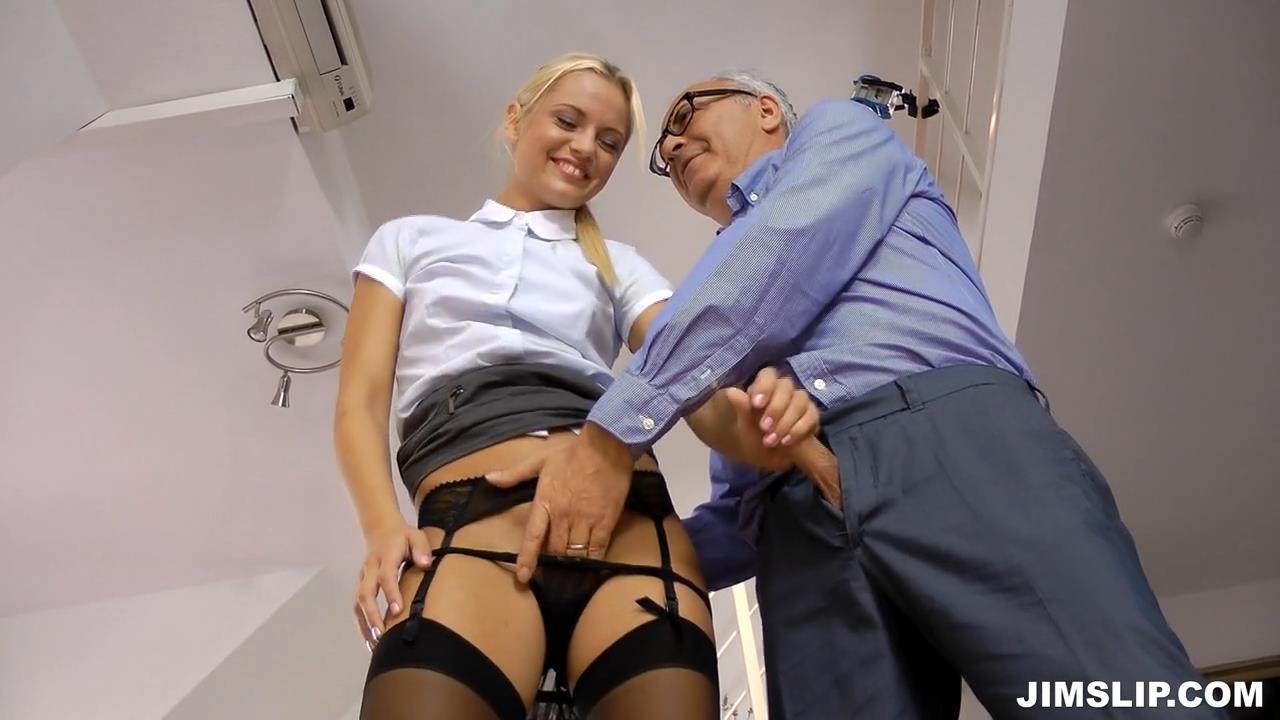 secretary black stockings Sexy