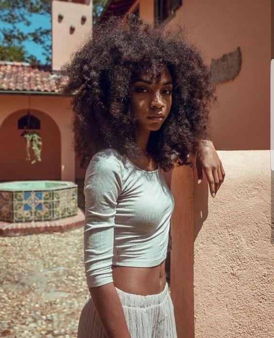 Flat chested black girl nerd