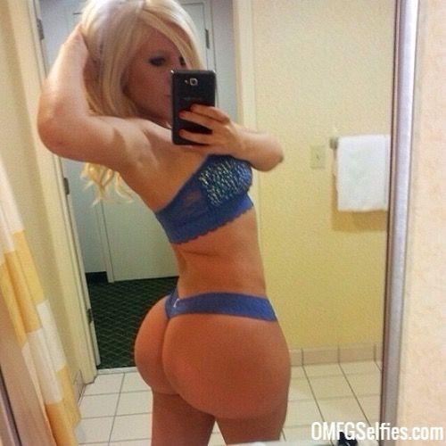 Hot blonde big ass