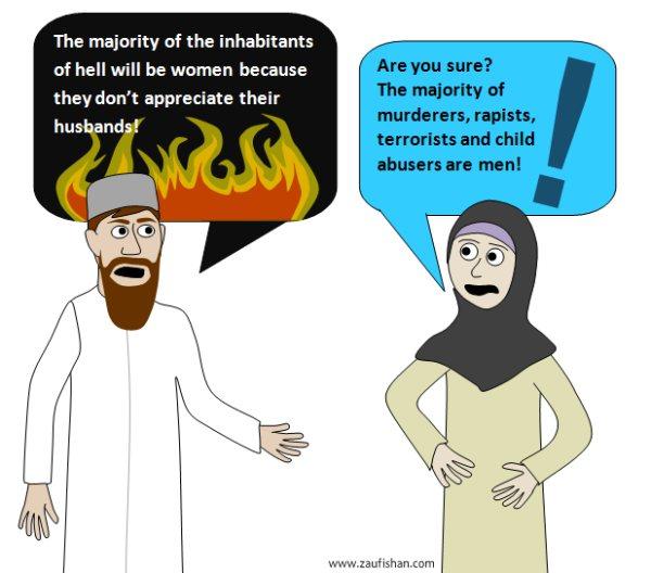 Hijab cartoon sex comic