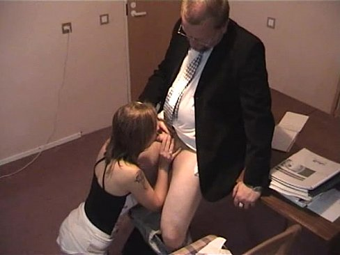 Old boss young secretary