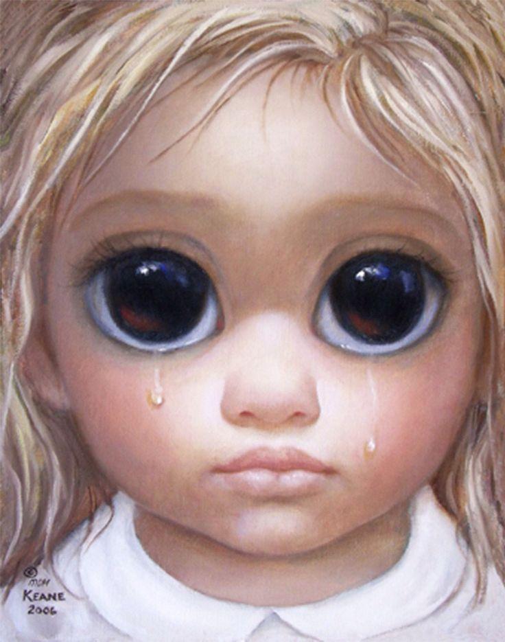 Girls with big eyes
