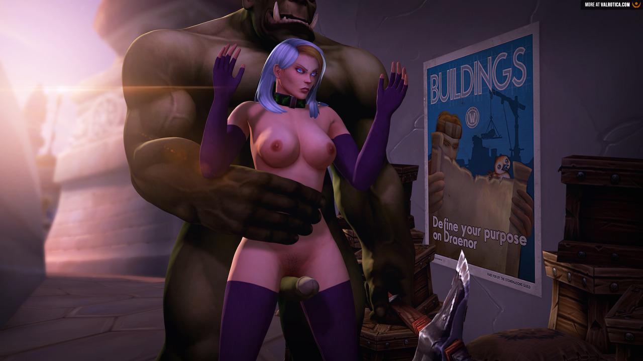 Warcraft horde hentai