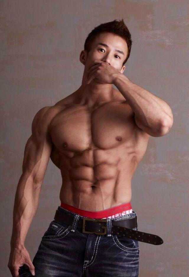 Gay korean muscle men