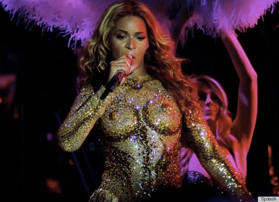 Beyonce nipple costume