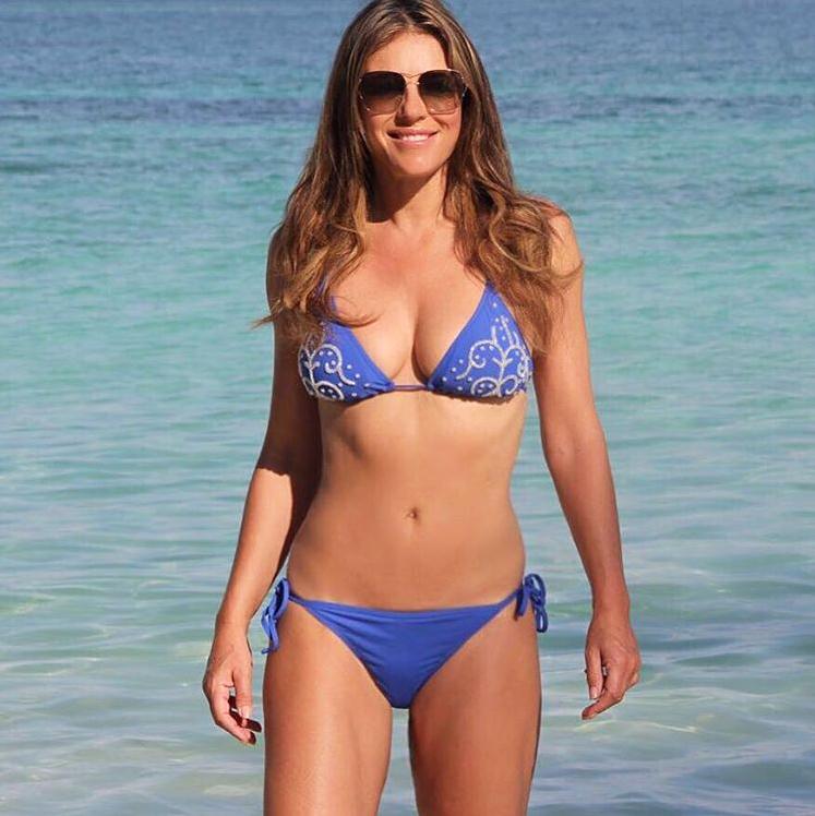 swimwear Elizabeth hurley