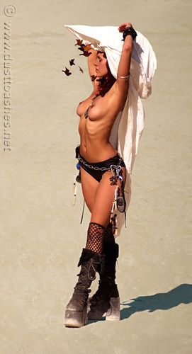 Burning man girls xxx