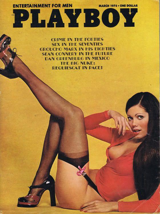 Vintage sex magazine covers