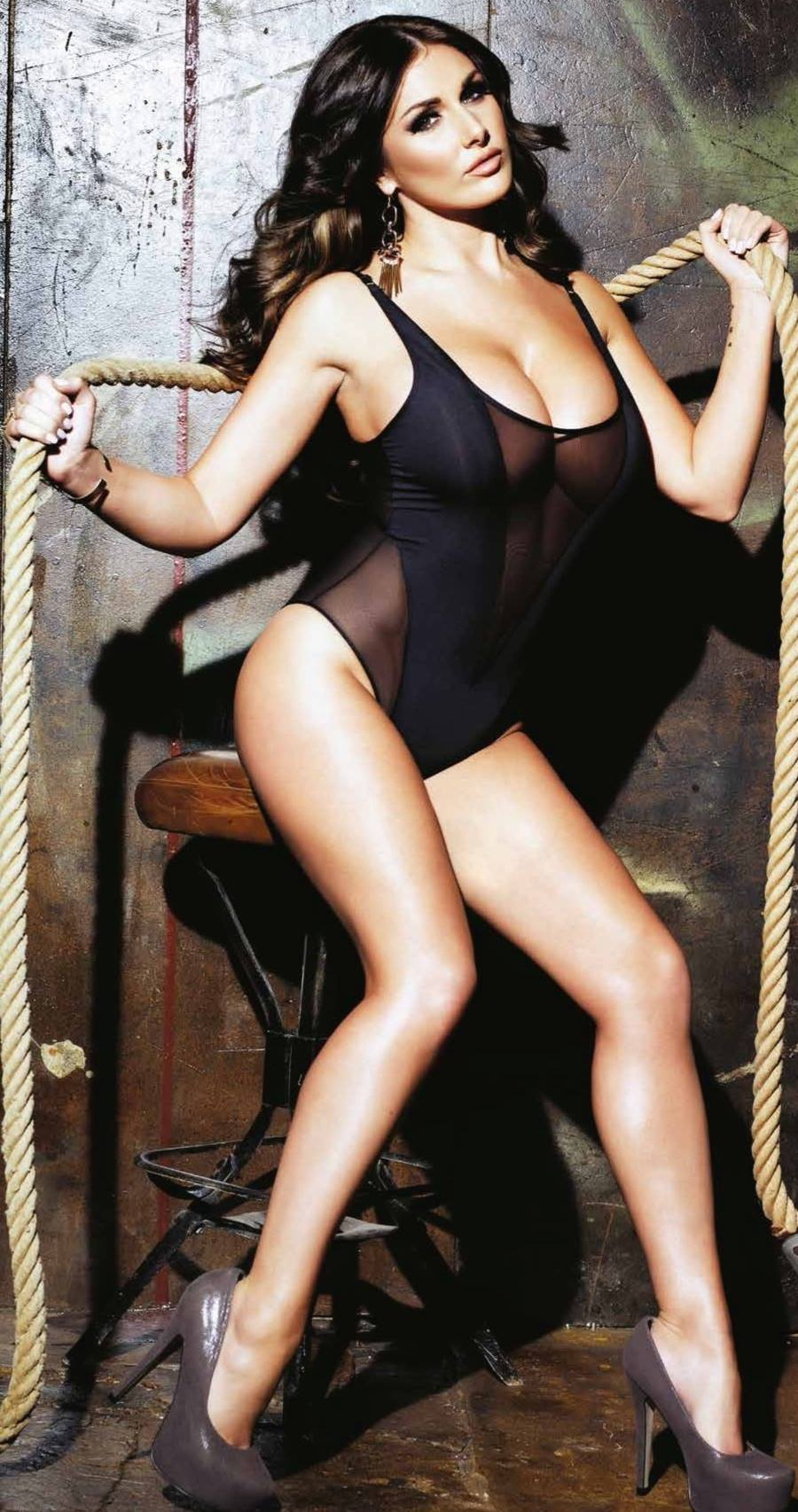 Lucy pinder nuts