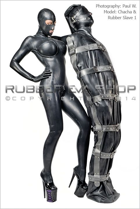 bondage illustrations Rubber