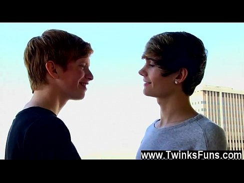Cute gay twink sex