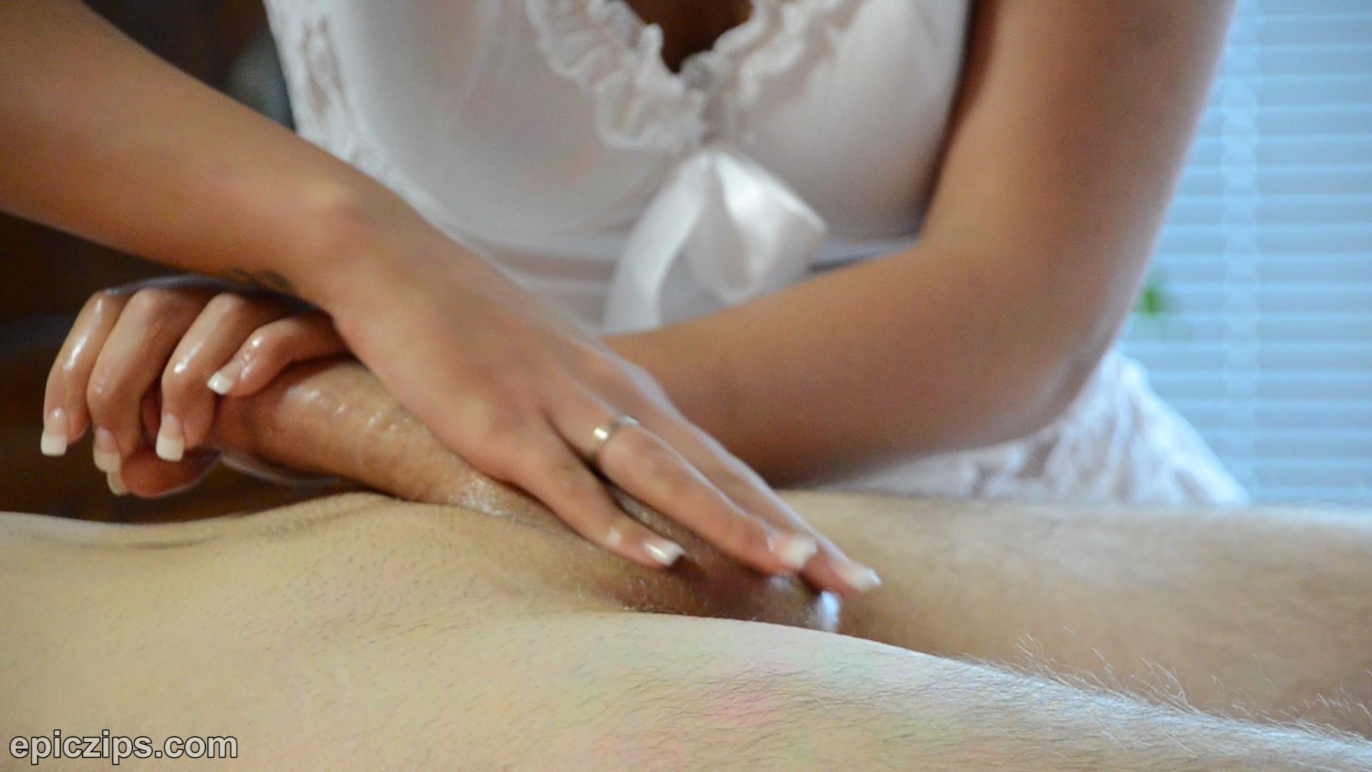 Bailey knox handjob massage