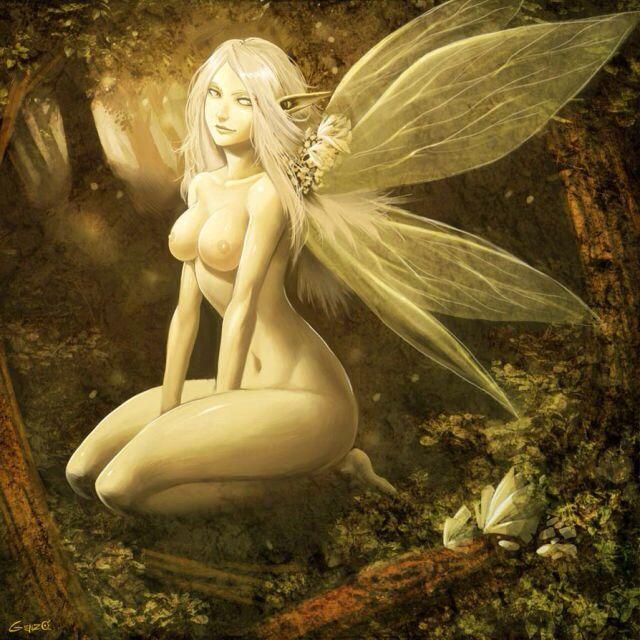 nude art Fantasy fairy