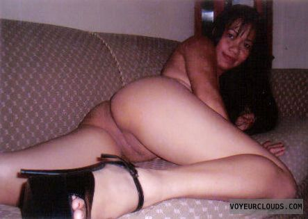 Middle aged filipina wife naked