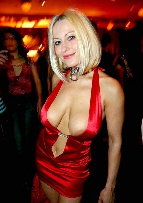 Wife dressed slutty dress