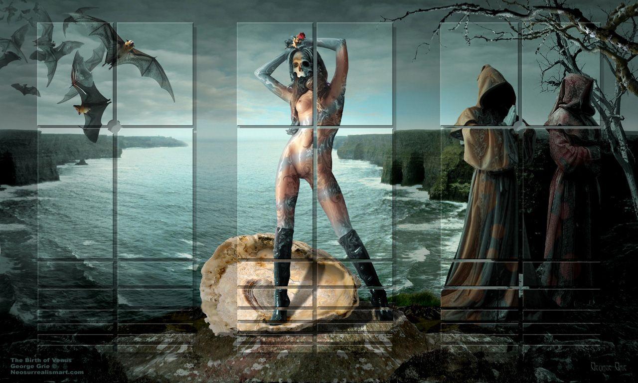 art Surreal nude