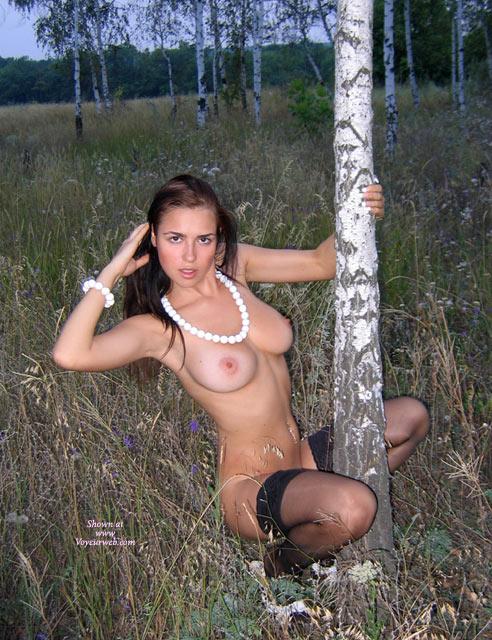 nipples Nude with brown black girls