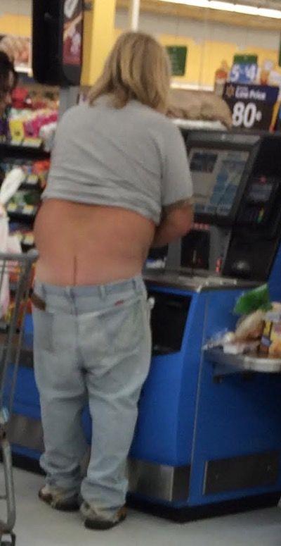 Hot girls ass crack
