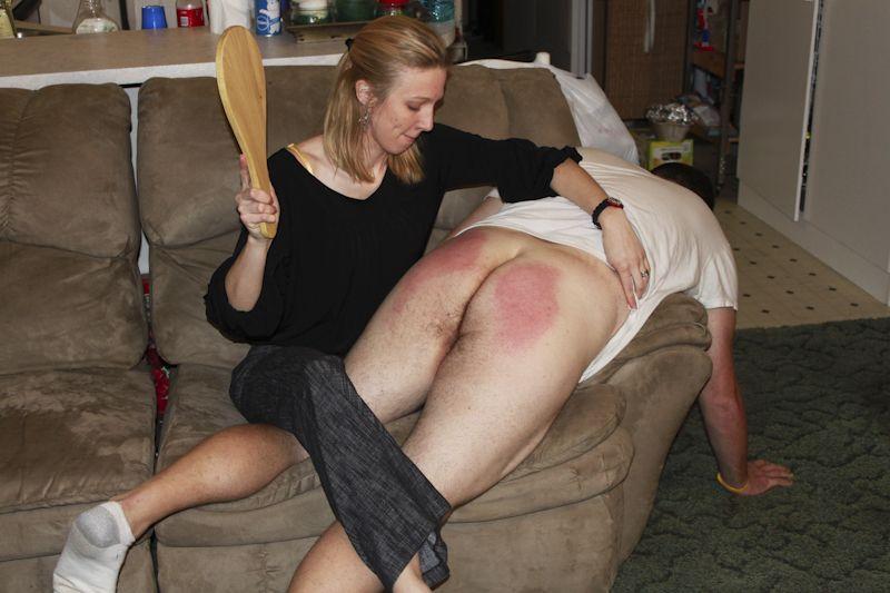 Girls spanking boys