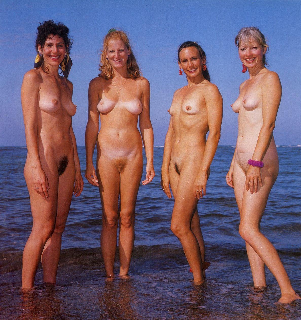 Vintage nudist women nude