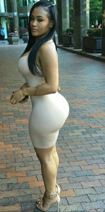 Sexy tight dress curvy girls