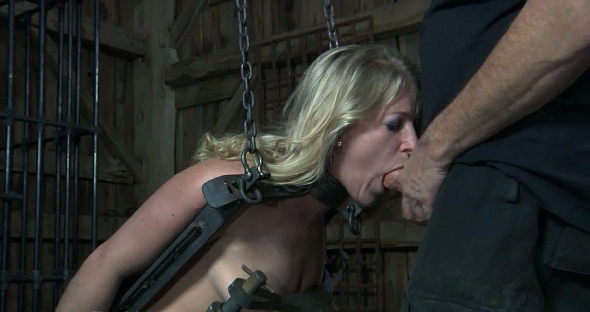 Homemade amateur girl next door bondage