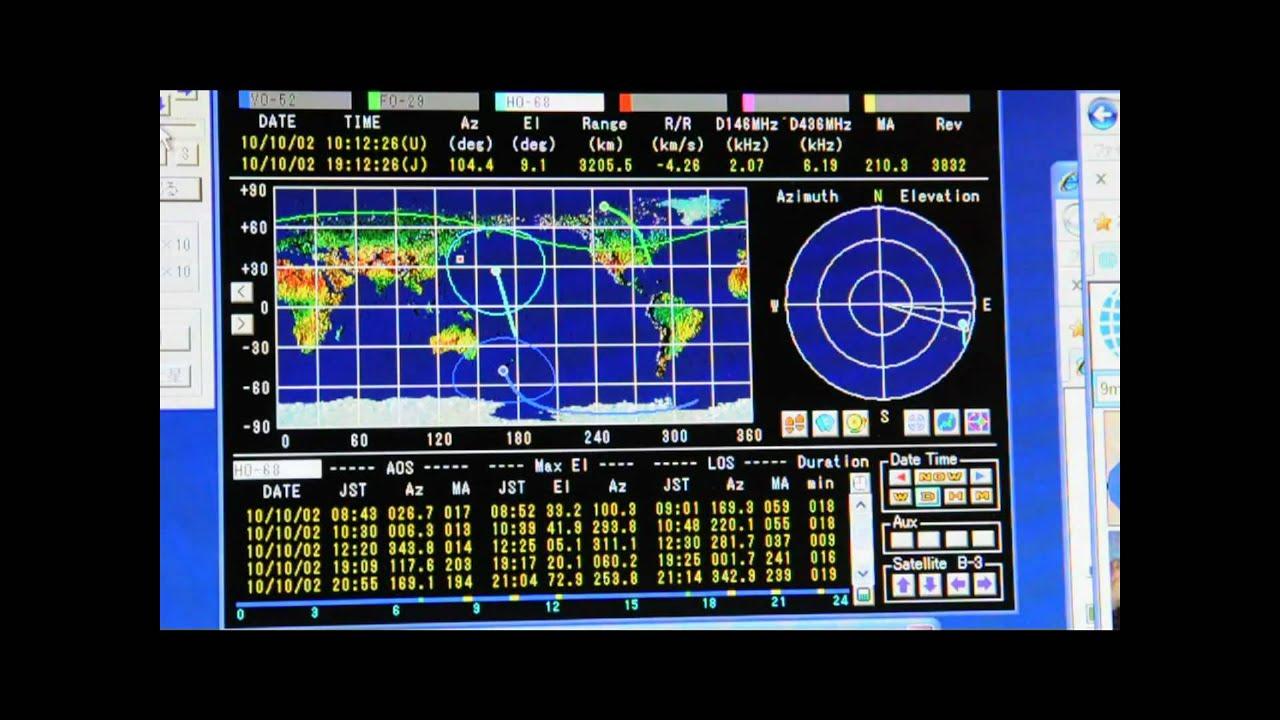 satellite Ham antenna radio tracking