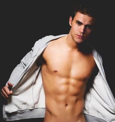 wesley shirtless Paul