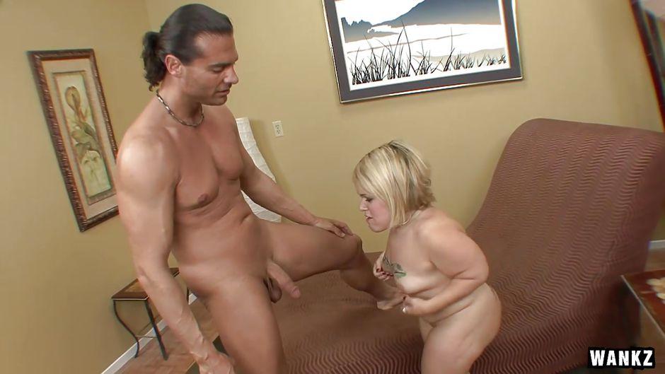 Sexy blonde midget porn