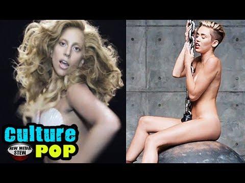 Gaga lady miley cyrus nude