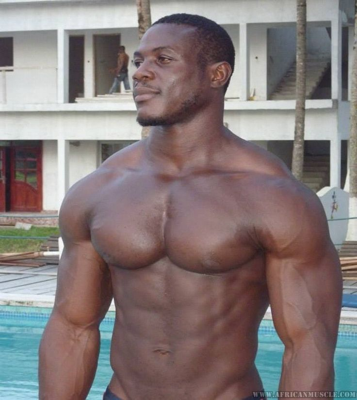 Hot gay naked black man — photo 1