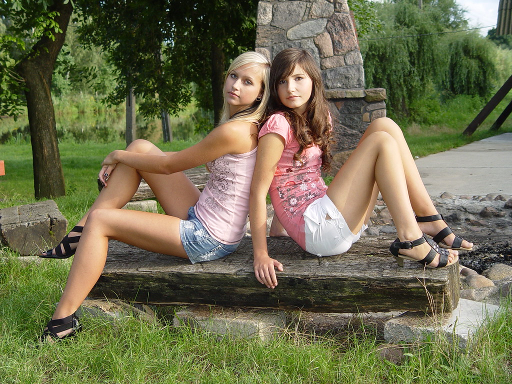 non nude Cute very young
