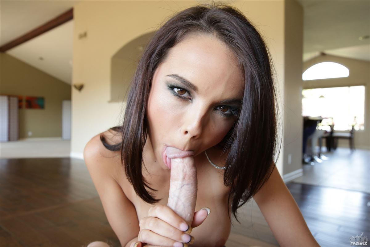 Dillion harper gives blowjob