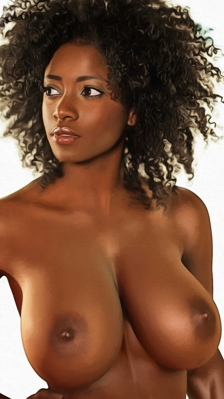 Black girls with big perky tits